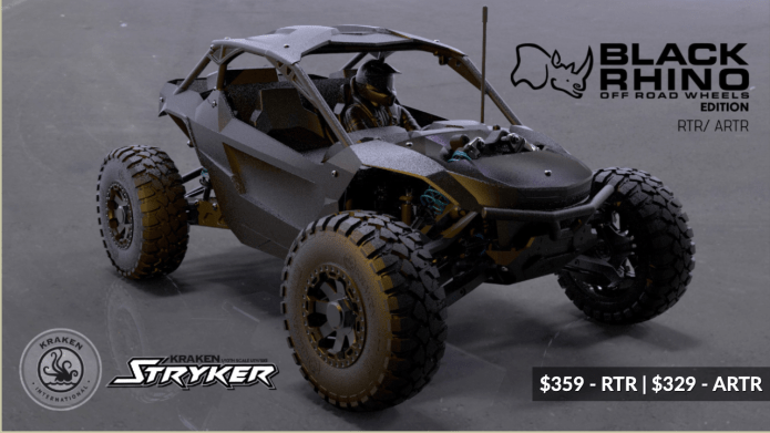 Kraken Stryker RTR - Black Rhino Wheels Edition