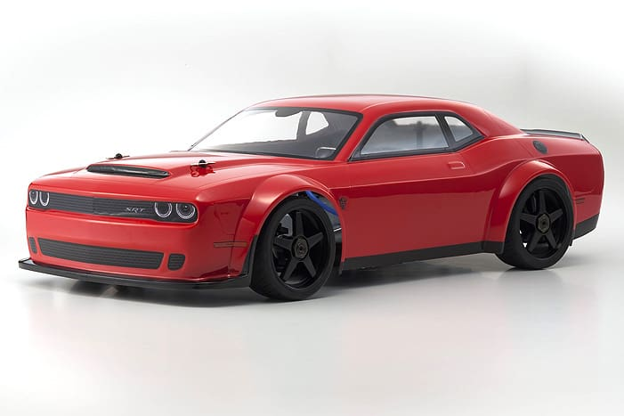 Kyosho's Inferno 1/8 GT2 Dodge Challenger SRT Demon