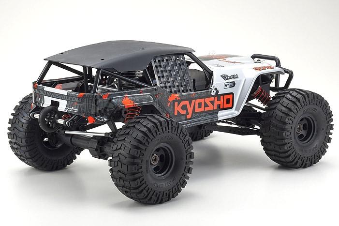 Kyosho Foxx 2 Fuel-powered - Rear