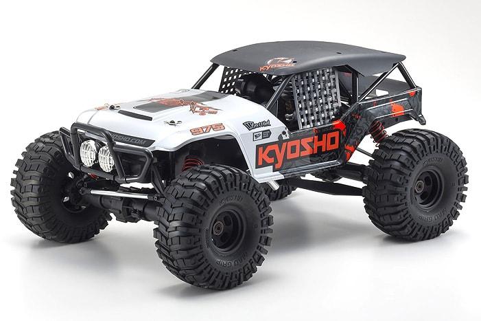 Trail Terror: Kyosho's FO-XX 2.0 GP Nitro-powered Monster Buggy