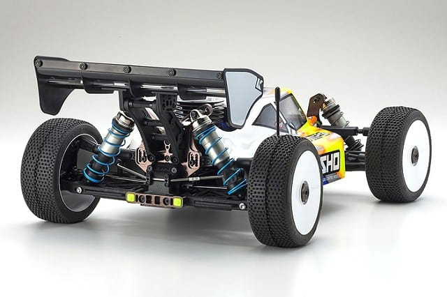 Kyosho Inferno MP9 TKI4 10th Anniversary SE - Rear