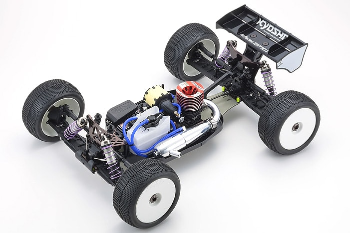 Kyosho MP10T Nitro-powered Truggy Kit - Chassis