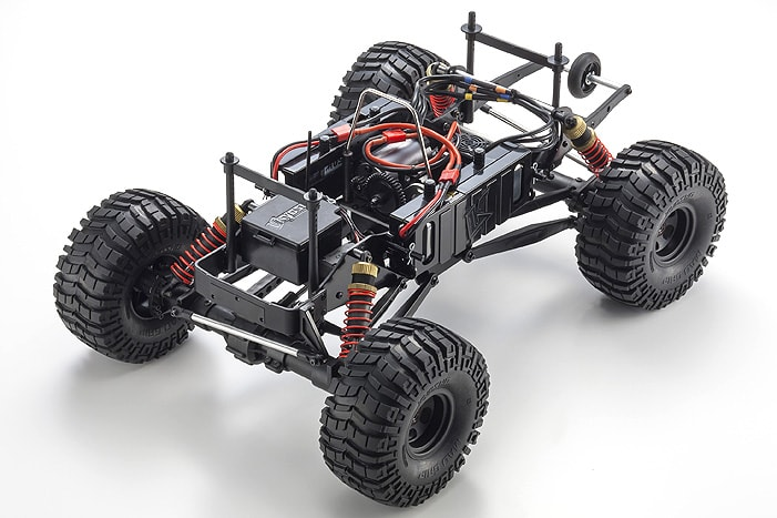 Kyosho Mad Crusher RC Monster Truck - Electric (Chassis)