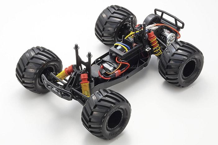 Kyosho Monster Tracker RC Monster Truck - Chassis