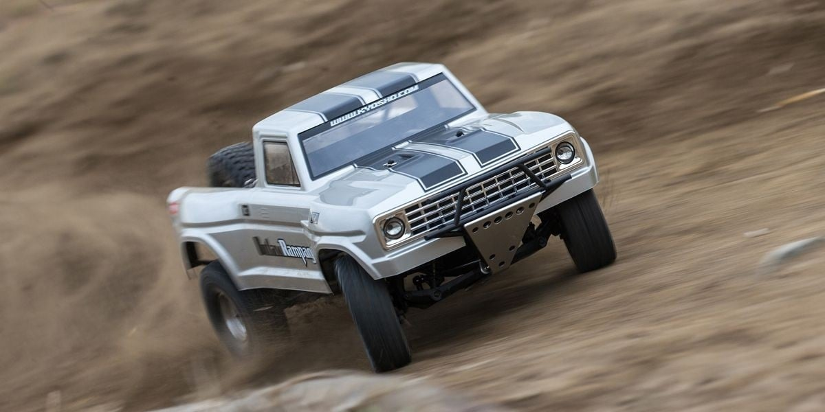 See it in Action: Kyosho Outlaw Rampage Pro Trophy Truck