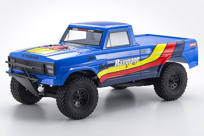 Kyosho's Outlaw Rampage 1/10 R/C Trophy Truck