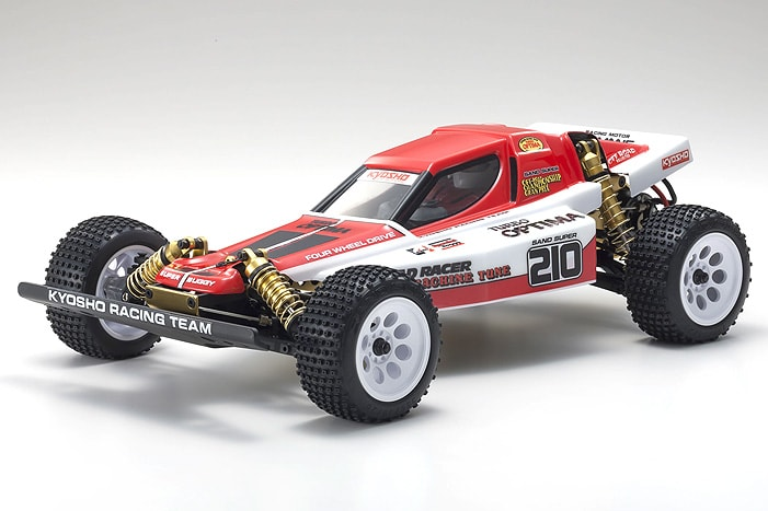 Gold Rush: Kyosho Turbo Optima 4WD Gold Kit