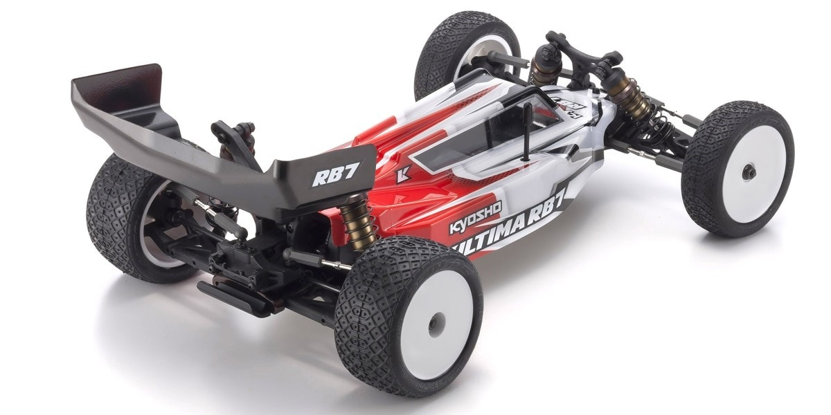 Kyosho Ultima RB7 2wd Buggy - Rear