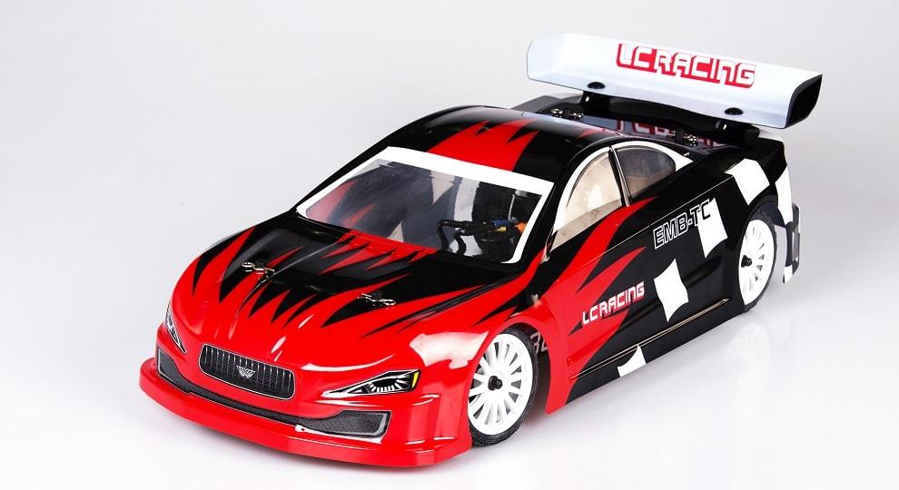 The LC Racing EMB-TCH 1/10 Touring Car