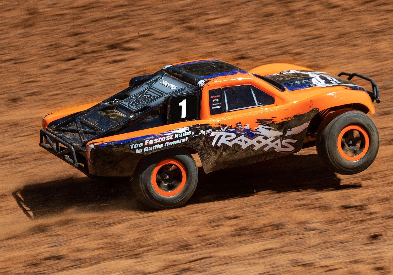 Limited Edition Orange Traxxas Slash - On the Track