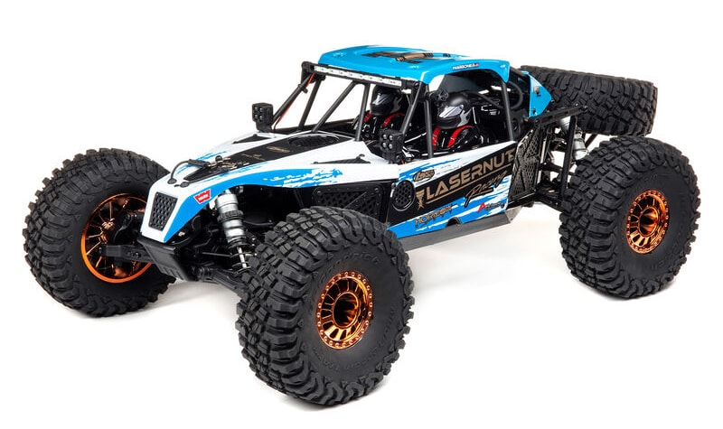 Losi Unleashes the Lazernut 1/10-scale Brushless Rock Racer