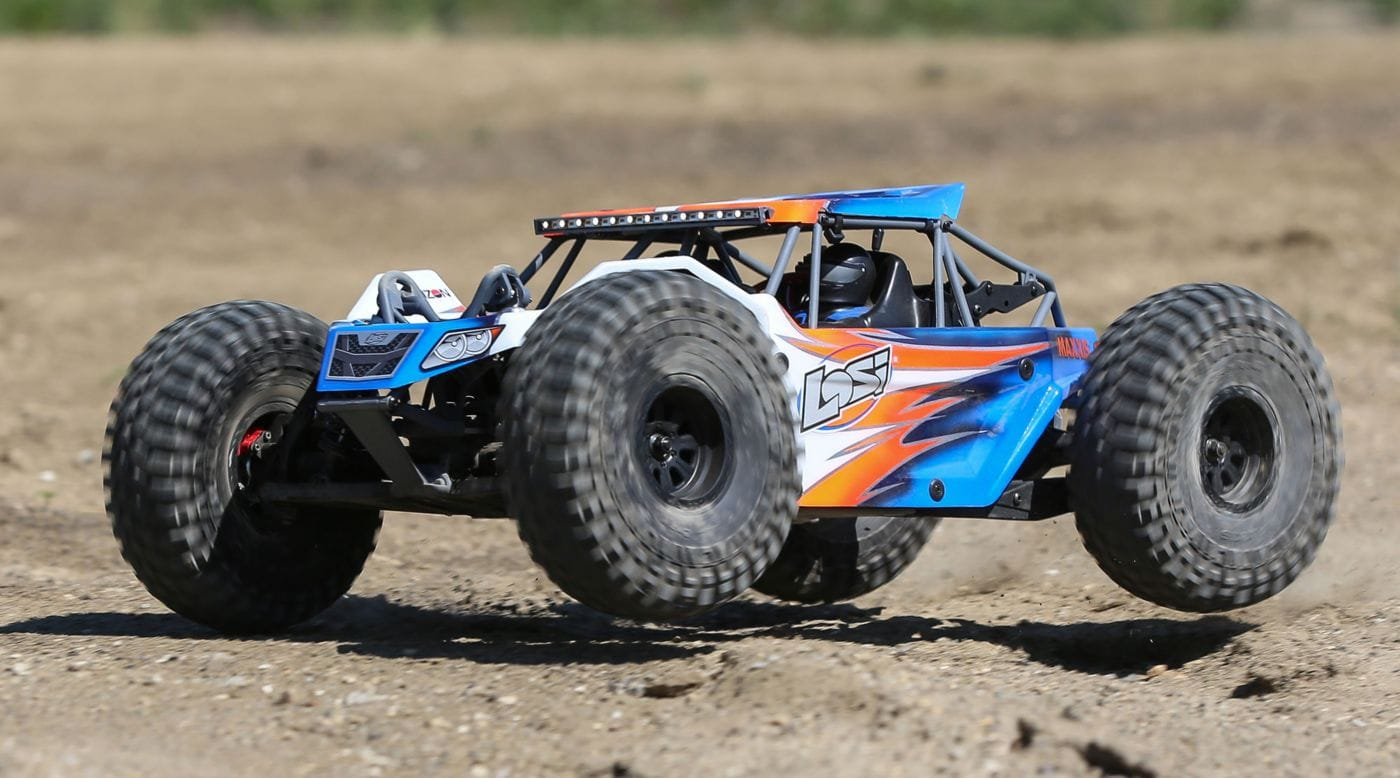 Overview and Action of the Losi Rock Rey Kit [Video]