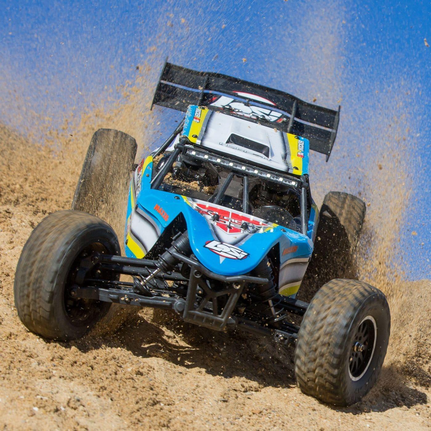 Losi Takes the Wraps Off Their Tenacity-DB Desert Buggy