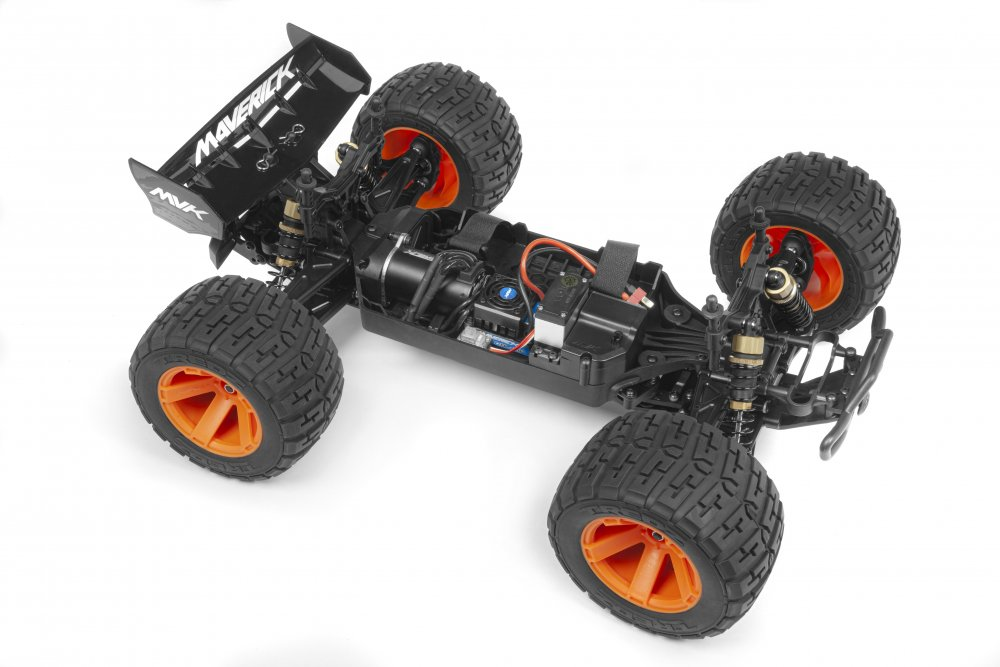 Maverick RC Quantum XT Flux Brushless Speed & Stunt Truck | RC Newb