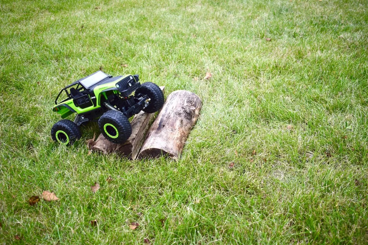 New Bright DashCam Jeep Trailcat - Logs
