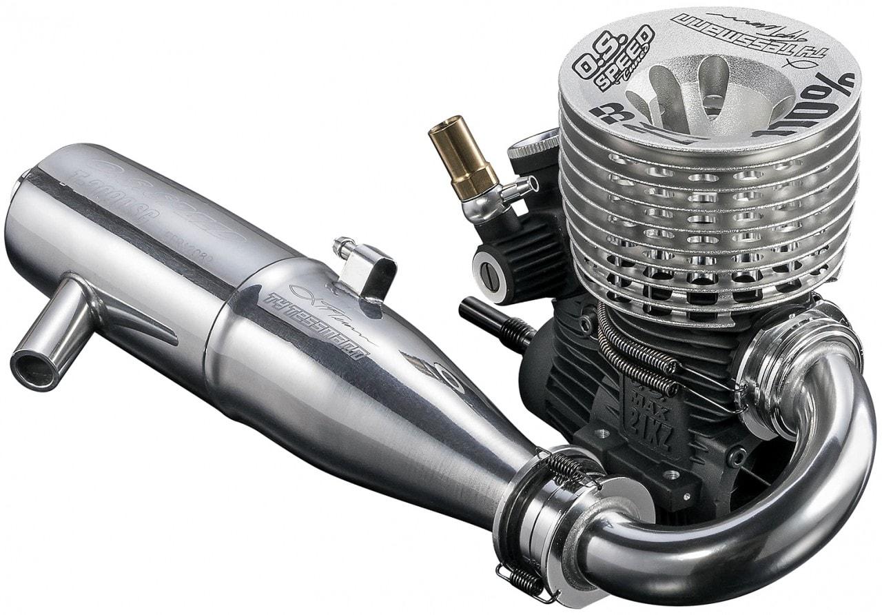 Premium Nitro Power with O.S. Engine's Speed 21XZ-B Spec II