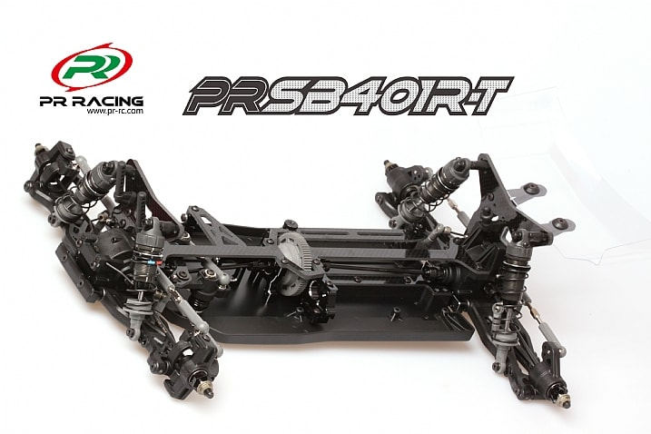 PR Racing SB410R Truggy - Chassis