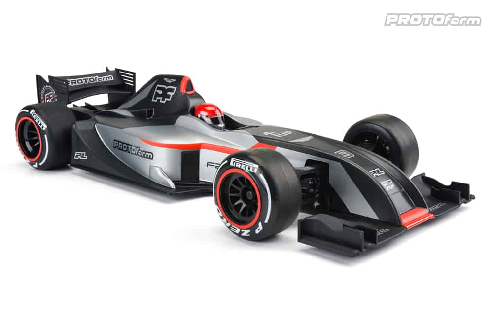 The Winning Formula: PROTOform's F26 F1 R/C Body