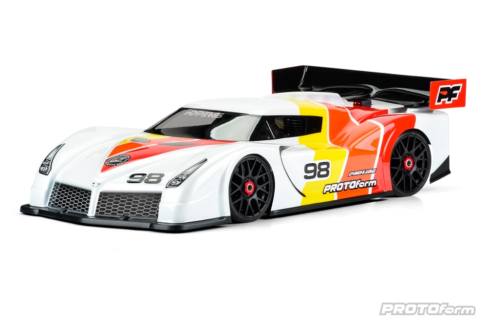 PROTOform Hyper-SS Clear Body for 1/8-scale GT Cars