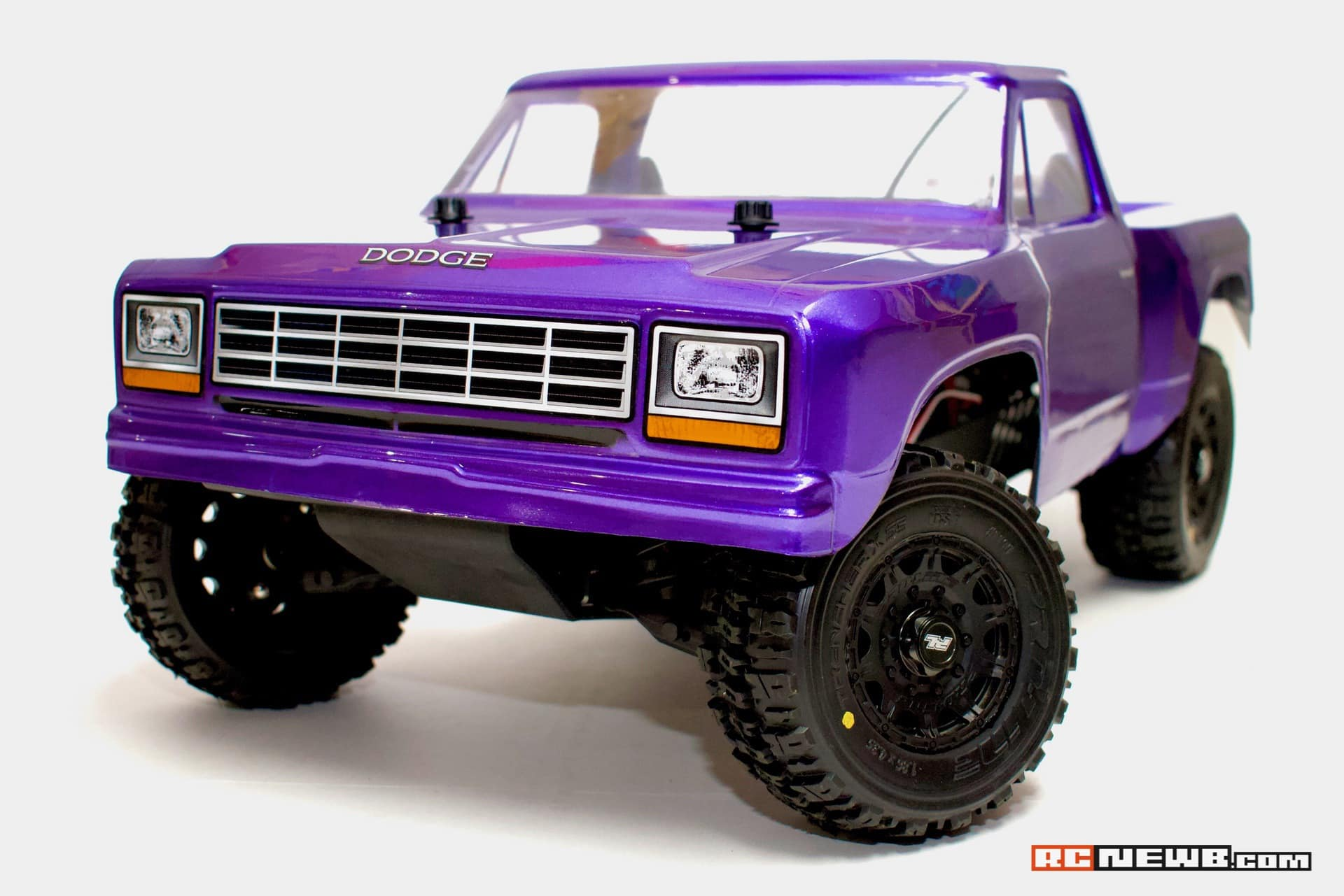Hands-on with Pro-Line's 1984 Dodge Ram R/C Short Course Truck Body
