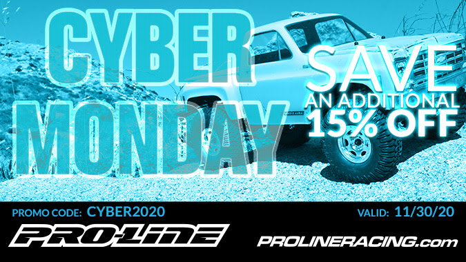 Get Charged Up for Pro-Line's 2020 Cyber Monday Sale