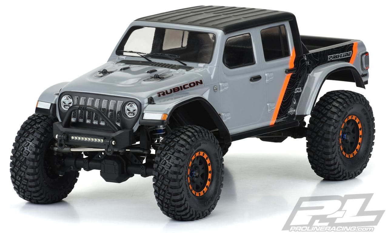 Pro-Line 2020 Jeep Gladiator Body for 12.3″/313mm R/C Crawlers