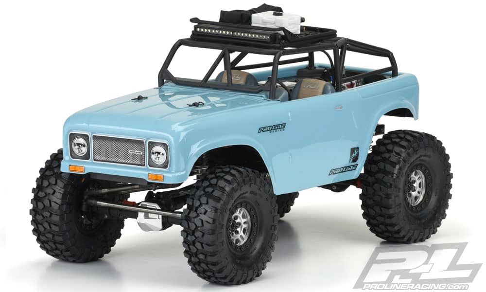 Pro-Line's 1/10-scale Ambush Clear Body for Scale Trail Rigs