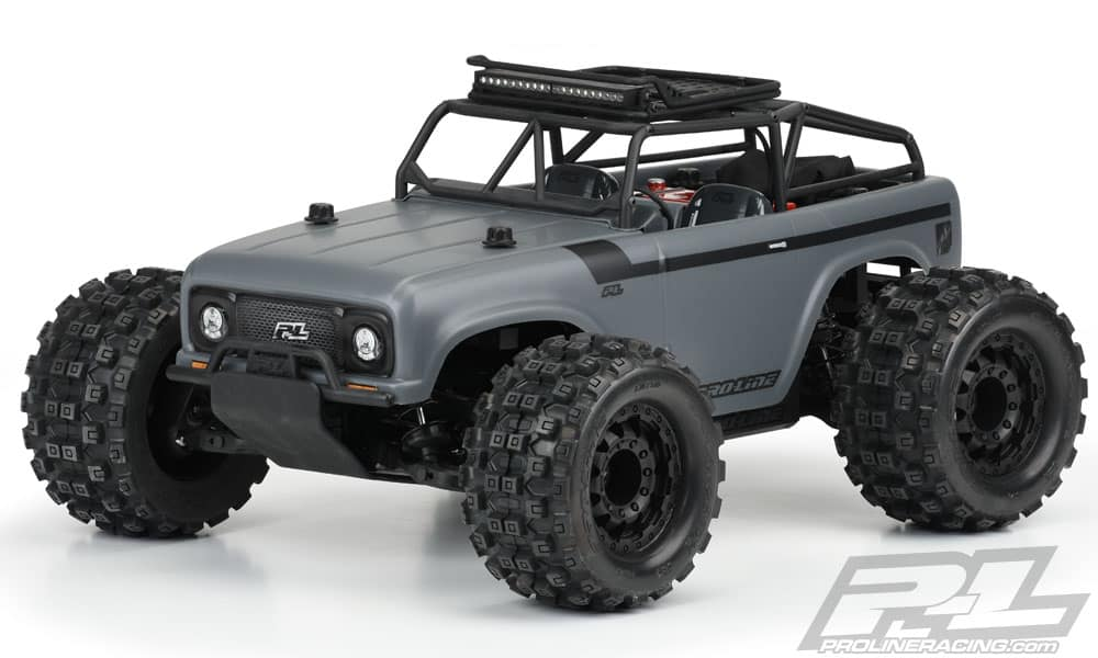 Pro-Line Ambush R/C Monster Truck Body