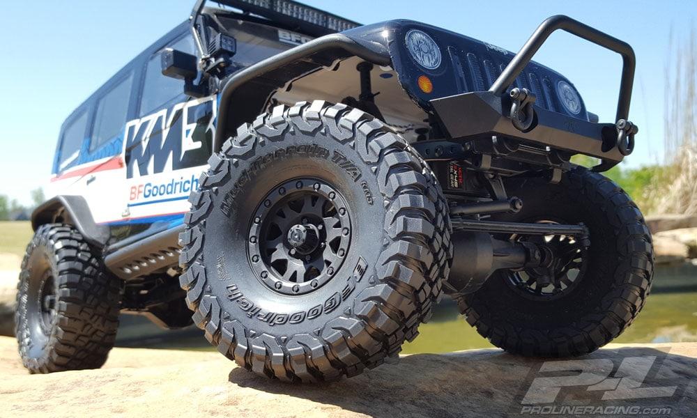 Pro-Line BFGoodrich Mud-Terrain T/A KM3 1.9″ Tires