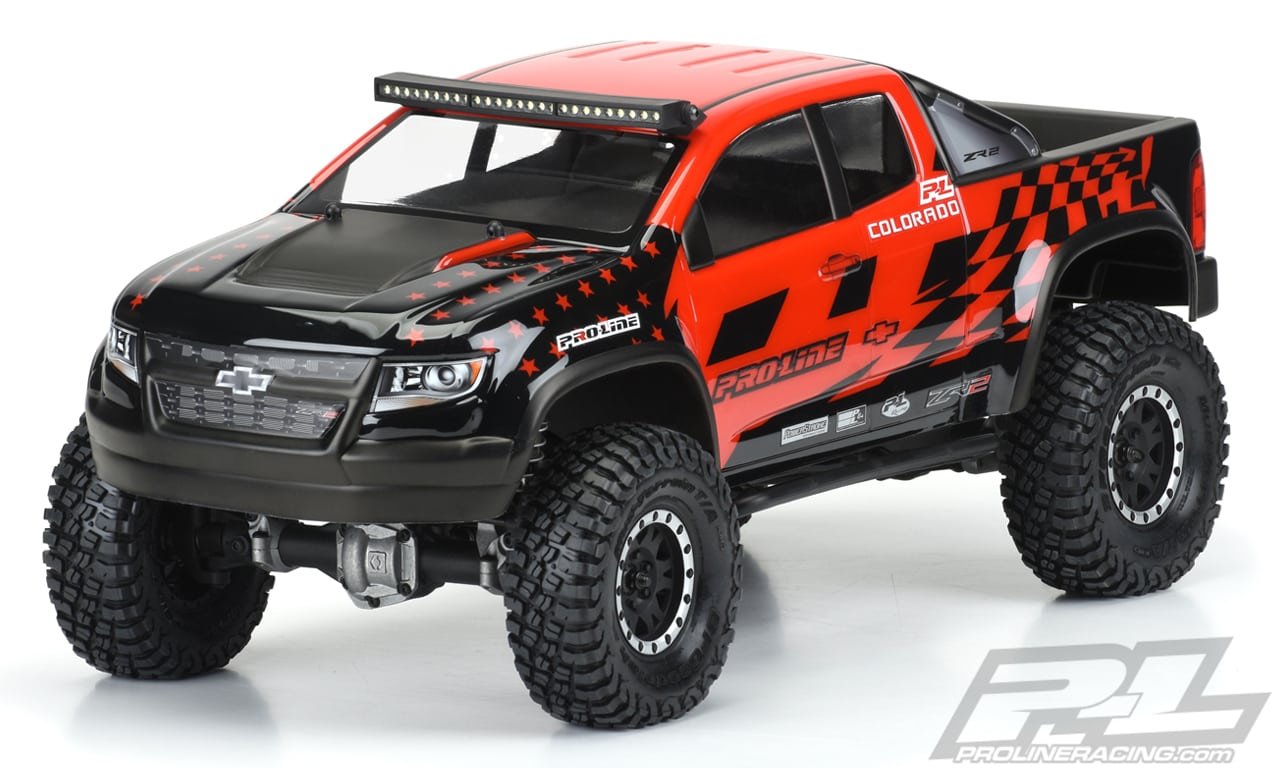 Pro-Line Chevy Colorado ZR2 Body for 12.3″ R/C Crawlers