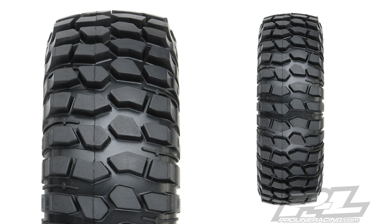 Pro-Line Class 0 BFGoodrich Krawler T:A KX 1.9 Rock Terrain Truck Tires - Detail
