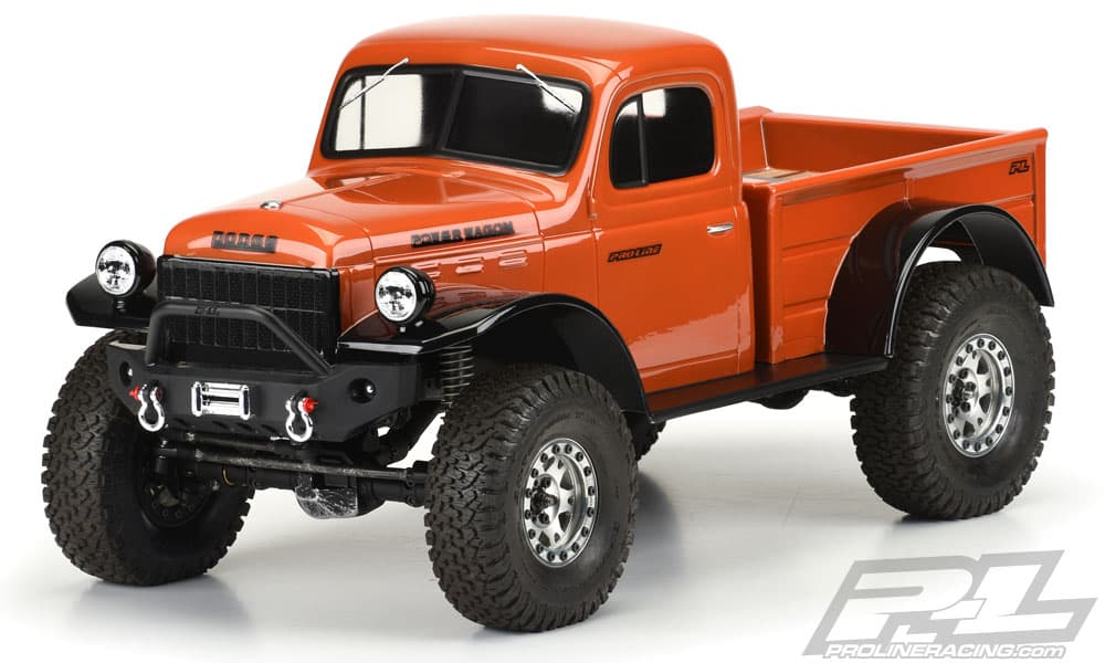 Wrap Your Rig in Old-school Cool with Pro-Line's 1946 Dodge Power Wagon Body