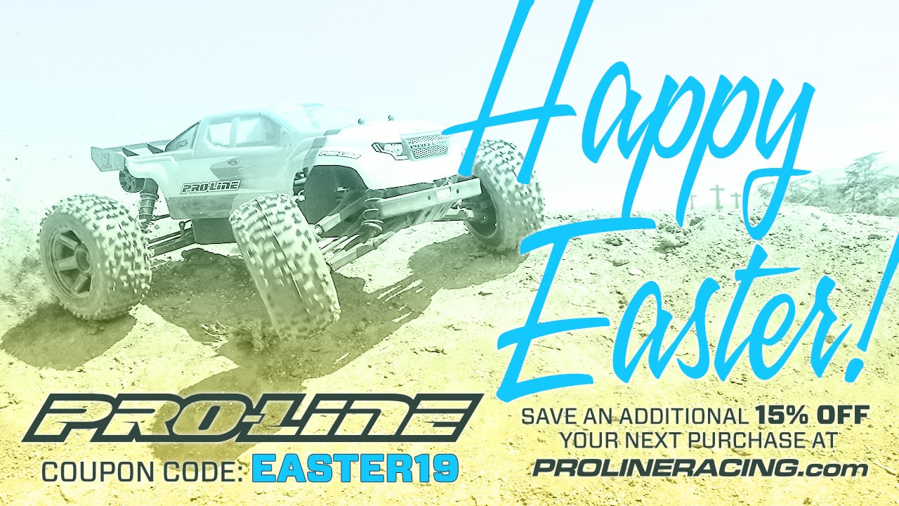 Sweet Springtime Savings During Pro-Line's Easter Sale