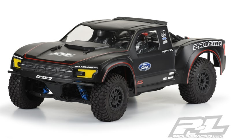 Pro-Line's Ford F-150 Raptor Body for the Axial Yeti SCORE Trophy Truck