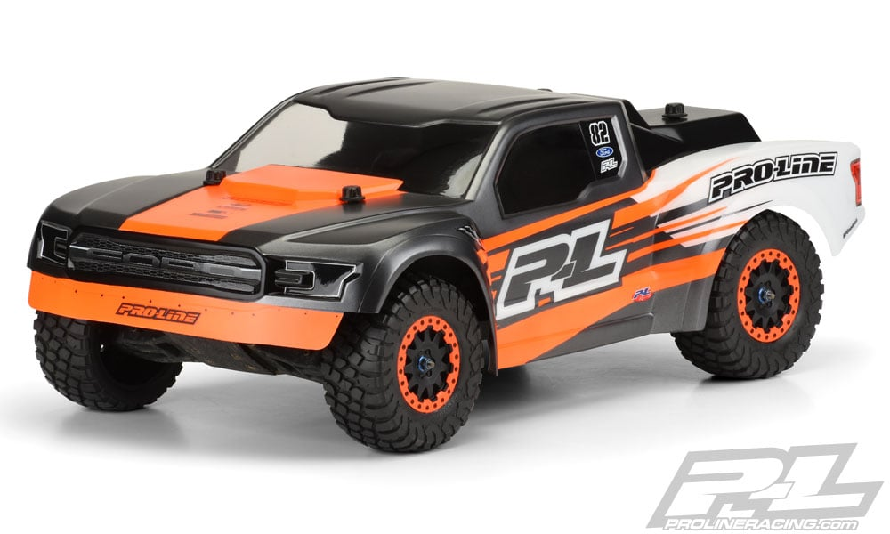 Pro-Line Releases a 2017 Ford F-150 Raptor Desert Truck Body