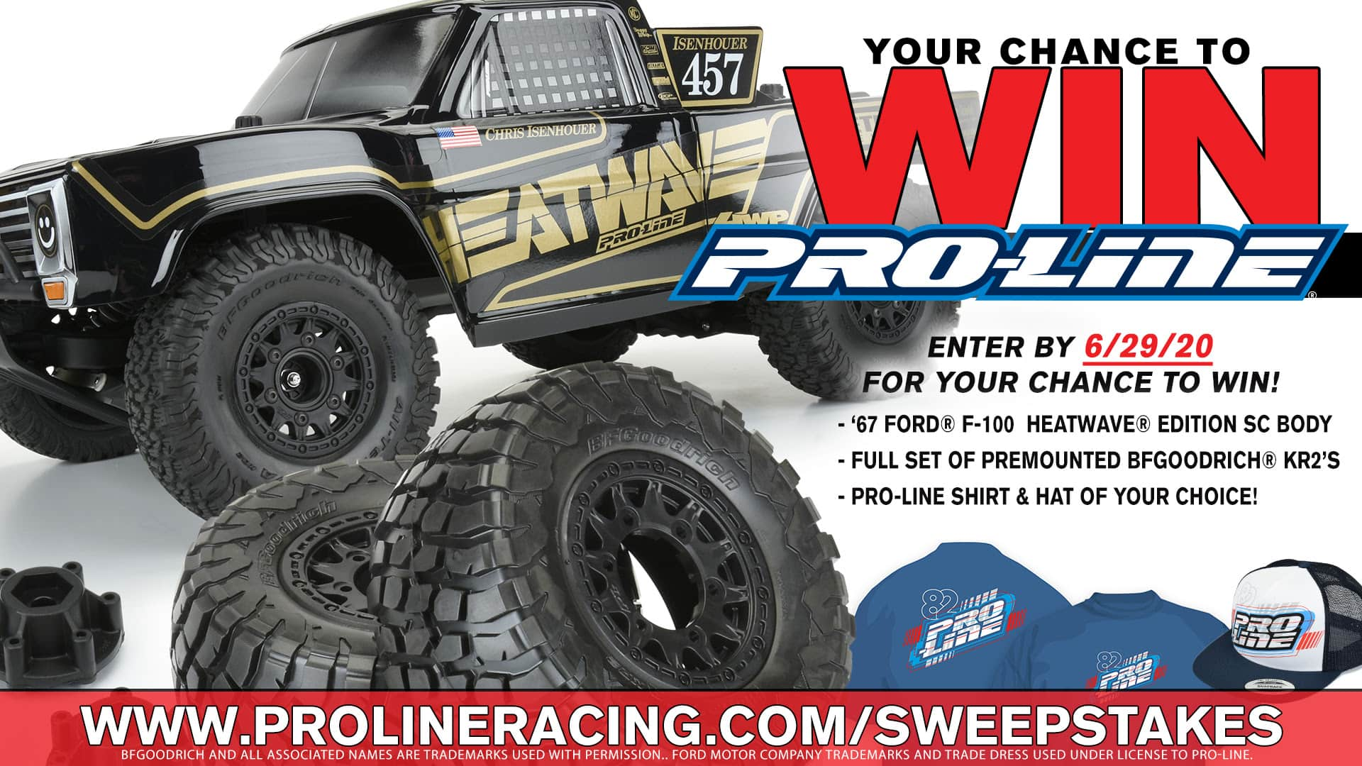 Pro-Line's Heatwave Short Course Sweepstakes
