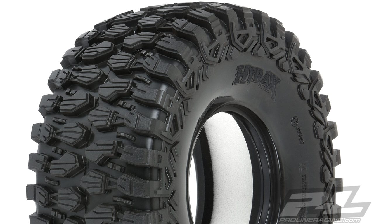 Pro-Line Hyrax Tires for the Traxxas UDR - Detail