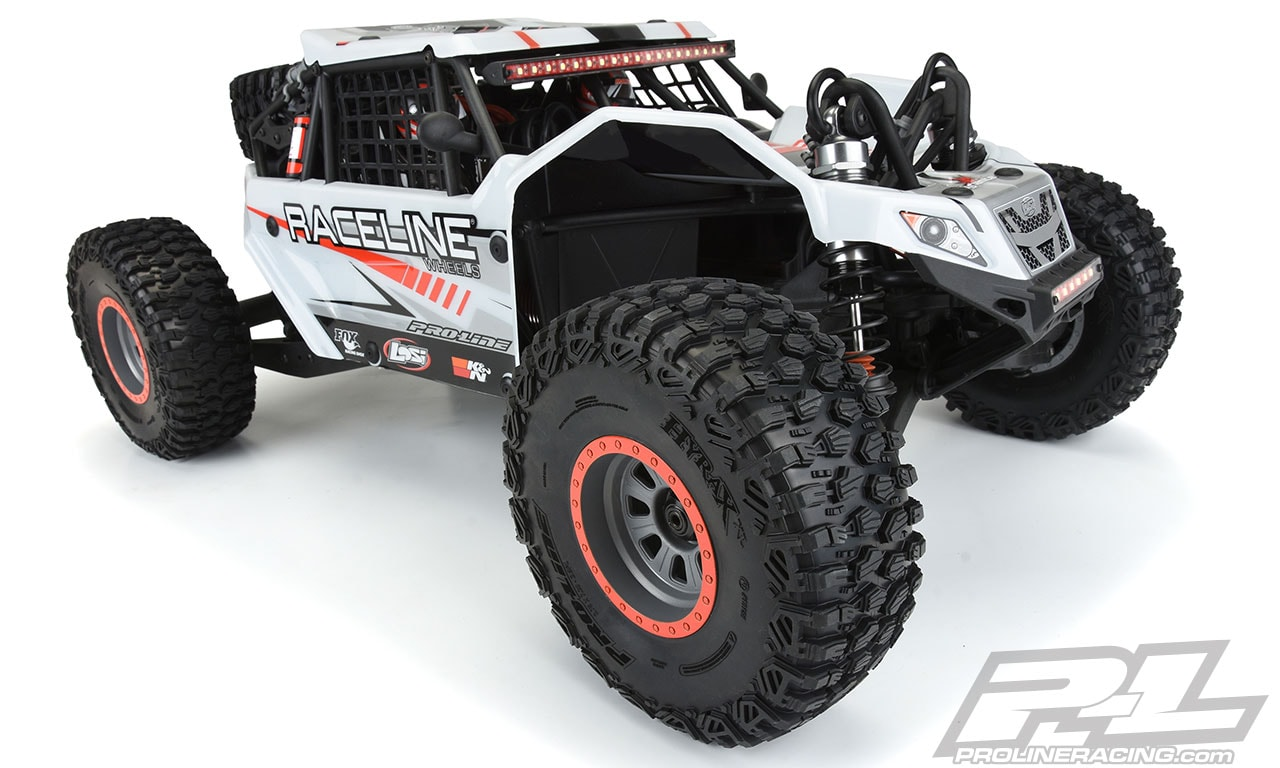 Pro-Line Hyrax XL 2.9″ Tires for the Losi Super Rock Rey