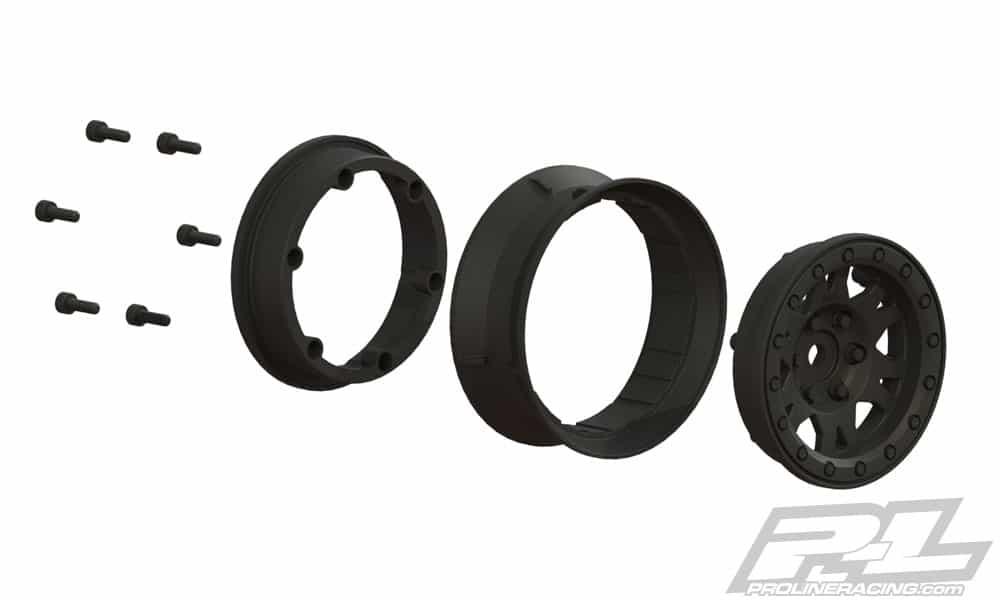 Pro-Line Impuse Plastic Bead-loc Wheels - Assembly