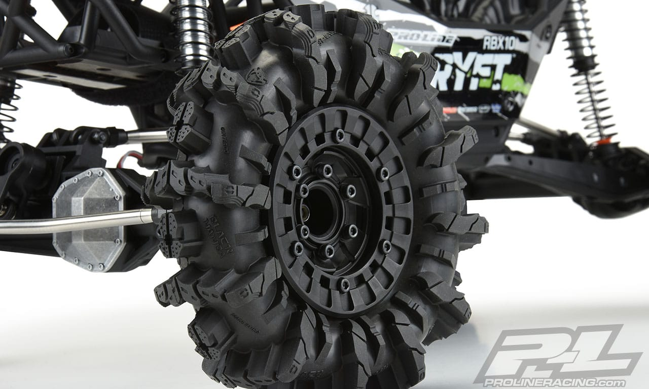 Pro-Line Interco Black Mamba Mud Terrain Truck Tires