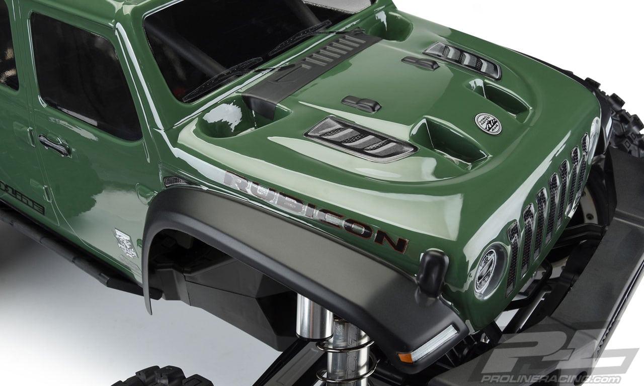 Pro-Line Jeep Gladiator Traxxas X-Maxx Body - Detail