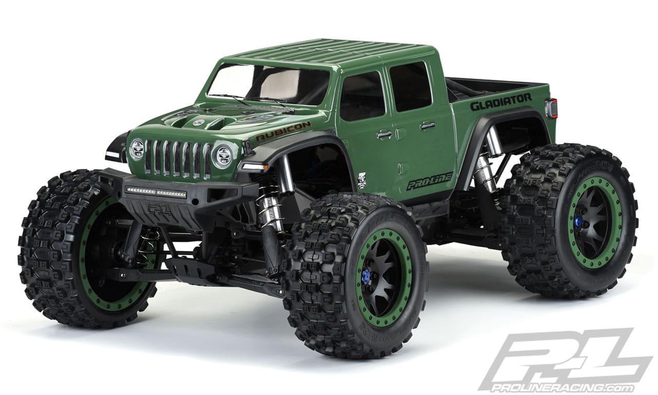 Pro-Line Jeep Gladiator Pre-cut Body for Traxxas X-Maxx