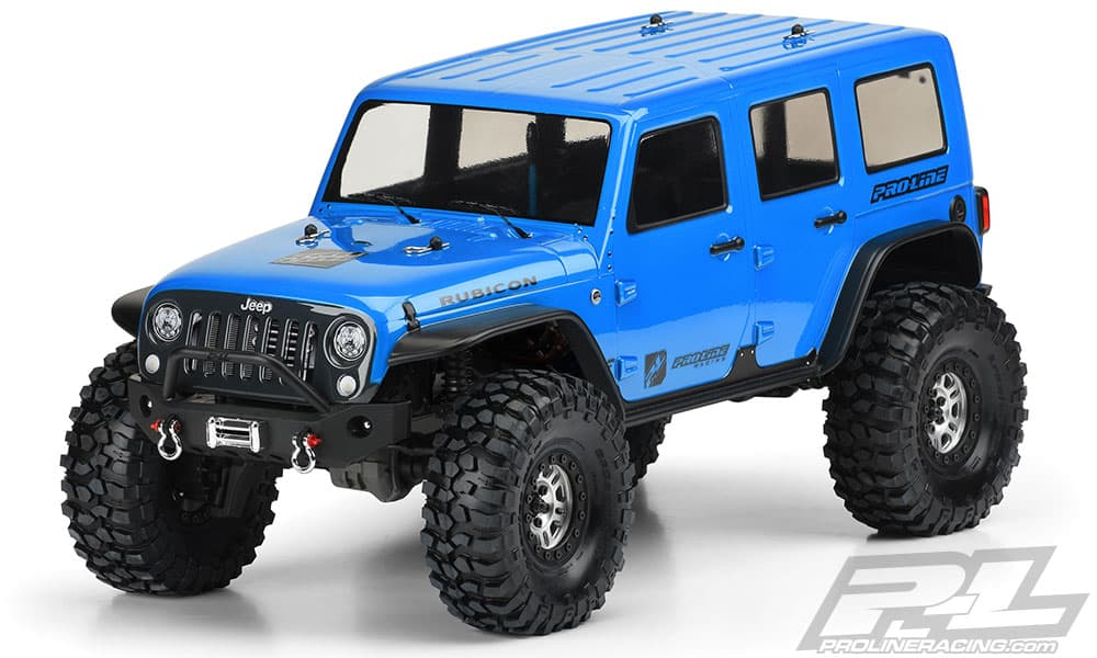 Pro-Line's Jeep Wrangler Unlimited Rubicon  Body for the Traxxas TRX-4