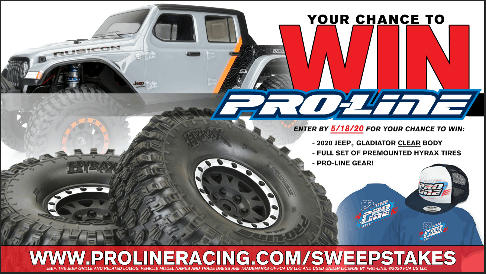 Transform Your Trail Truck with this Scale R/C Giveaway from Pro-Line