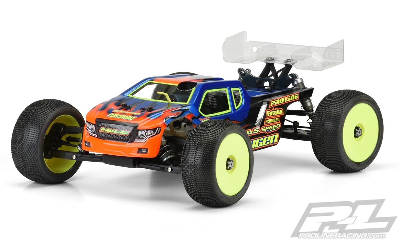 Pro-Line Nighthawk Truggy Body for the Mugen Seiki MBX8T