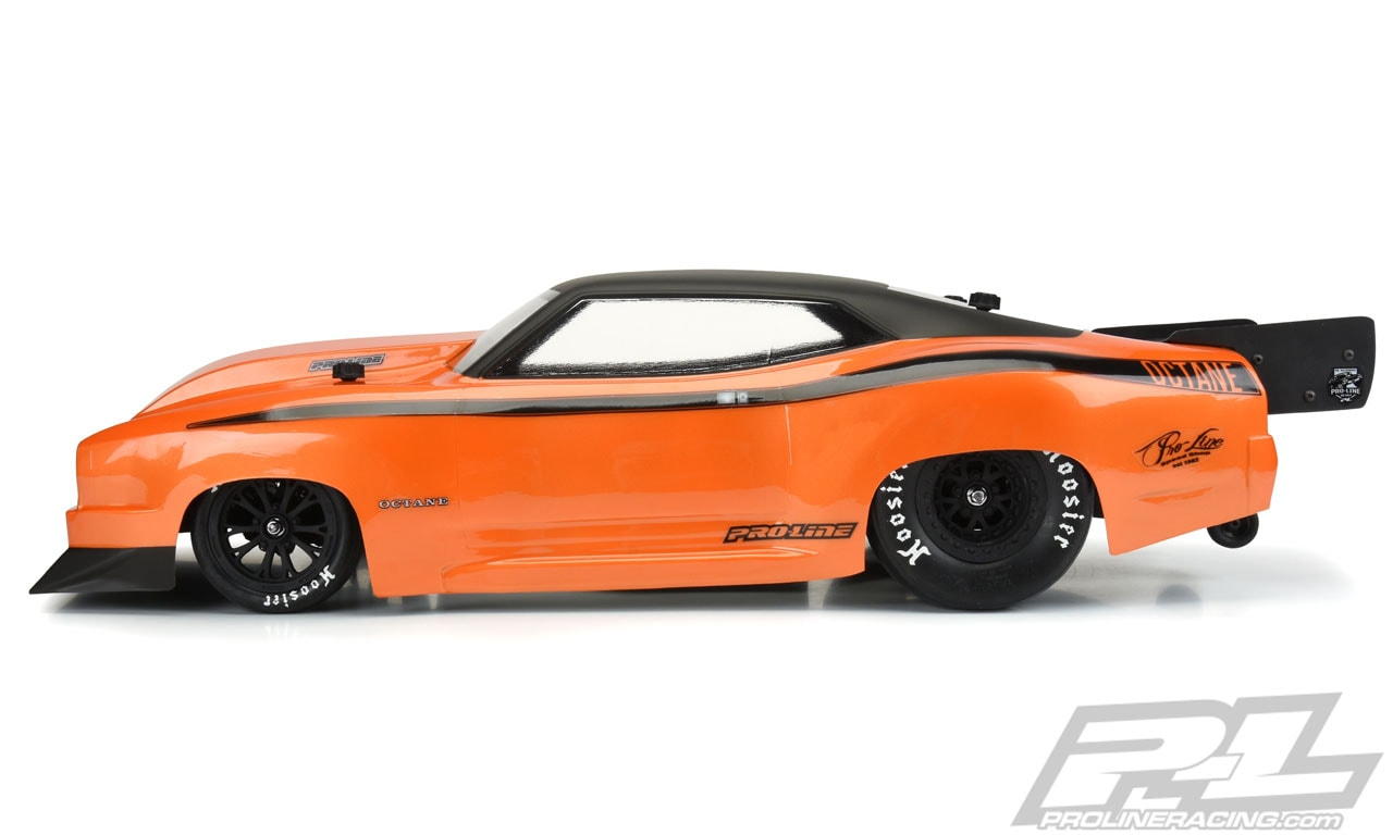 Pro-Line Octane Drag Racing Body - Side