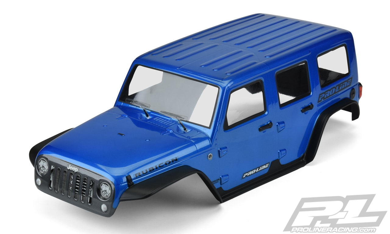 Pro-Line Pre-cut, Pre-painted Jeep Wrangler Body for the Traxxas TRX-4
