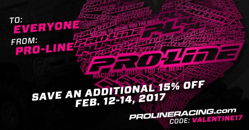 Pro-Line's 2017 Valentine's Sale