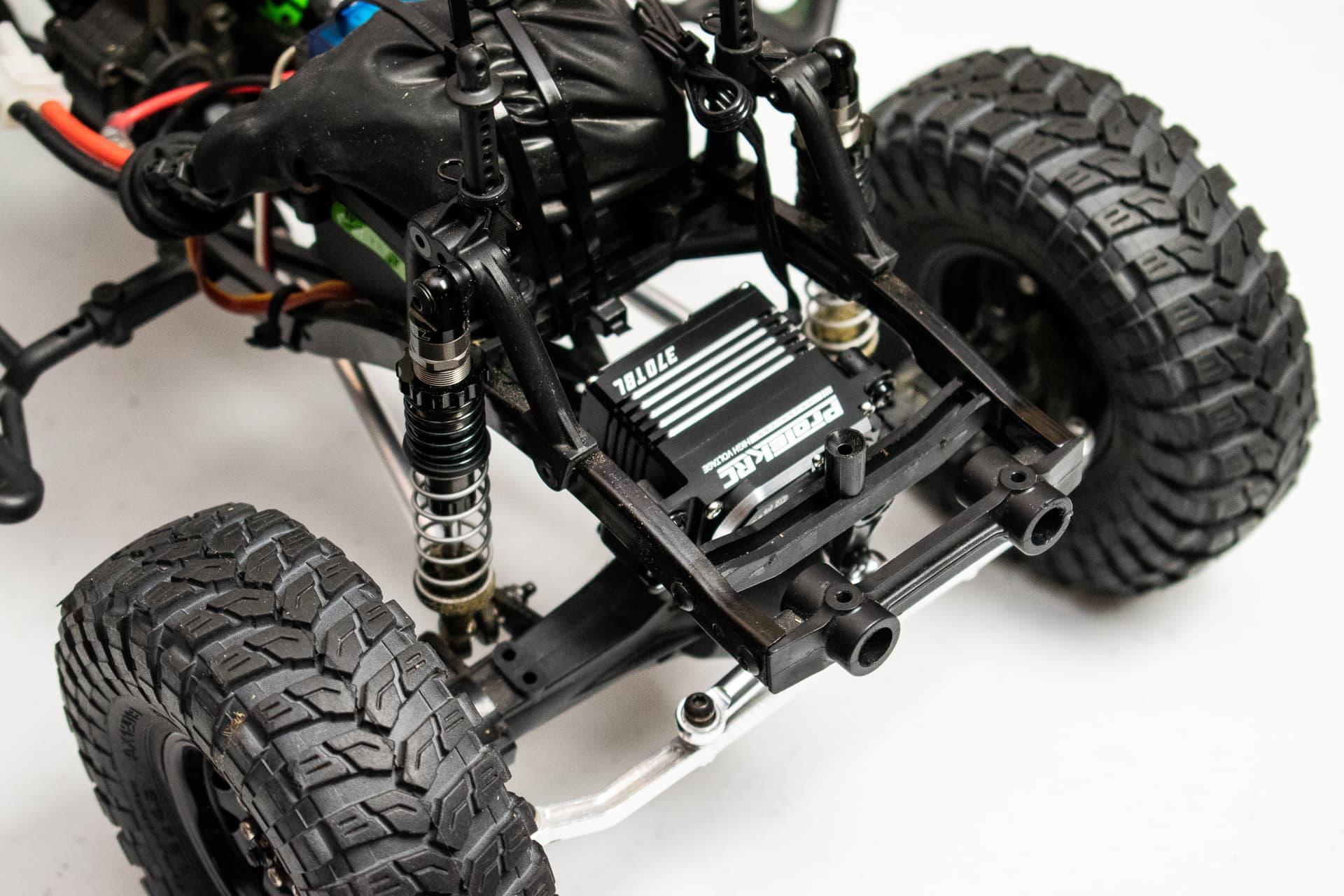 "ProTek RC 370TBL /""Black Label/"" Waterproof High Torque Brushless Crawler Servo"