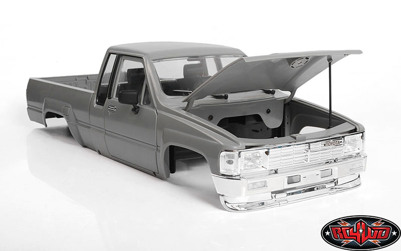 Go Super-scale with RC4WD's 1/10-scale 1987 Toyota XtraCab Hard Body